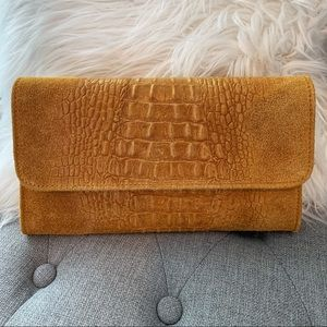 Handbags - Alligator Skin Clutch